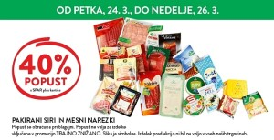 Spar in Interspar vikend akcija do 26. 03.