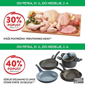 Spar in Interspar vikend akcija do 02. 04.