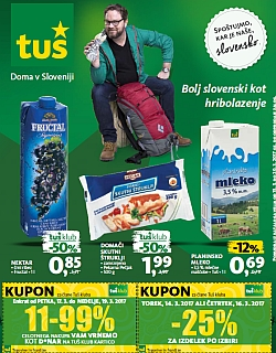 Tuš katalog trgovine in franšize do 20. 03.