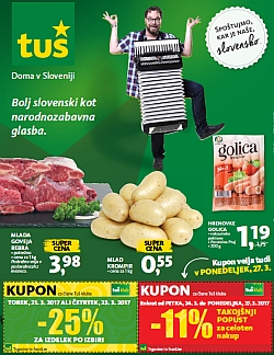 Tuš katalog trgovine in franšize do 27. 03.