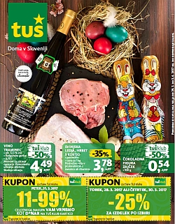 Tuš katalog trgovine in franšize do 03. 04.