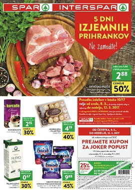 Spar in Interspar katalog do 12.3.