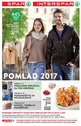 Spar in Interspar katalog Pomlad 2017