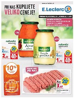 E Leclerc katalog Ljubljana do 07. 05.