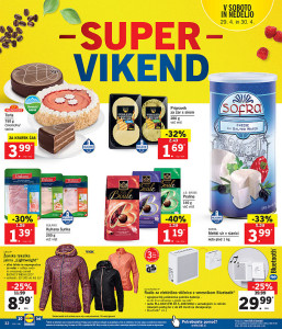 Lidl super vikend do 30. 04.