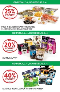 Spar in Interspar vikend akcija do 09. 04.
