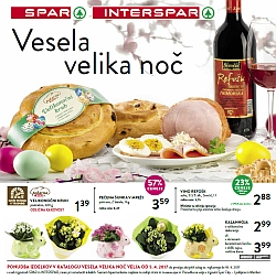 Spar in Interspar katalog Velika noč 2017
