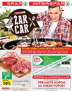 Spar in Interspar katalog do 24. 04.