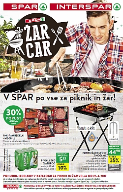 Spar in Interspar katalog Žar 2017