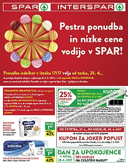 Spar in Interspar katalog do 03. 05.