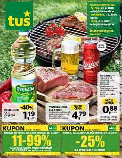 Tuš katalog trgovine in franšize do 01. 05.