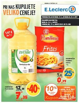 E Leclerc katalog Ljubljana do 23.4.