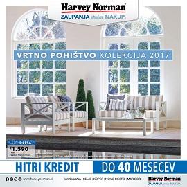 Harvey Norman katalog Vrtno pohištvo 2017