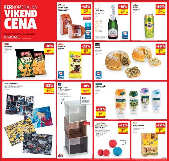 Hofer vikend akcija do 15.4.