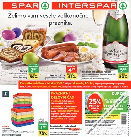 Spar in Interspar katalog do 18.4.