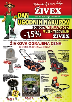 Živex katalog do 23. 05.