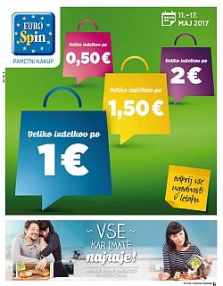 Eurospin katalog do 17. 05.