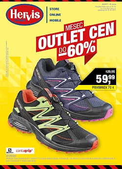 Hervis katalog Mesec Outlet cen do 15. 05.
