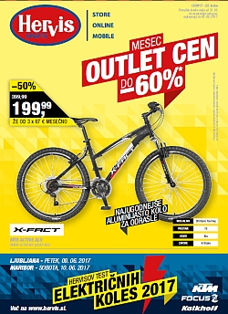 Hervis katalog Mesec outlet cen do 05. 06.