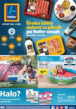 Hofer katalog od 29. 05. in od 01. 06.