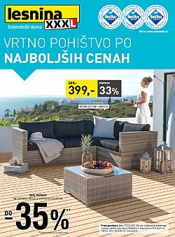 Lesnina katalog Vrtno pohištvo do 10. 06.