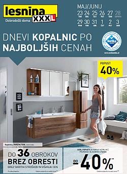 Lesnina katalog Dnevi kopalnic do 03. 06.