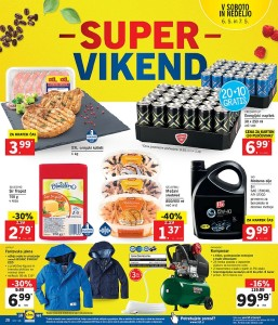 Lidl super vikend do 07. 05.