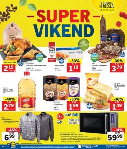 Lidl super vikend do 14. 05.