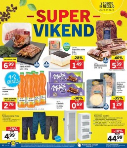 Lidl super vikend do 21. 05.