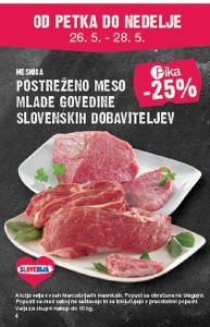 Mercator vikend akcija do 28. 05.