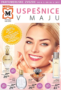 Muller katalog parfumerija do 20. 05.