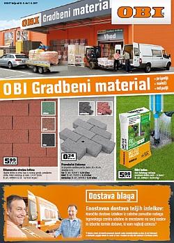 OBI katalog Gradbeni material do 07. 06.