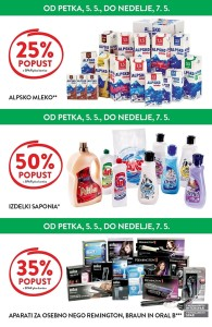 Spar in Interspar vikend akcija do 07. 05.
