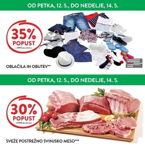Spar in Interspar vikend akcija do 14. 05.