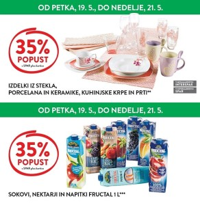 Spar in Interspar vikend akcija do 21. 05.