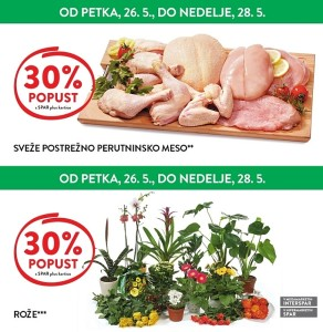 Spar in Interspar vikend akcija do 28. 05.