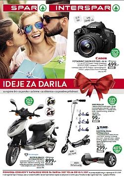 Spar in Interspar katalog Ideje za darila