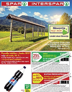 Spar in Interspar katalog do 16. 05.