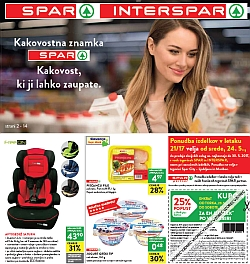 Spar in Interspar katalog do 30. 05.