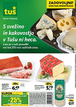 Tuš katalog trgovine in franšize do 08. 05.