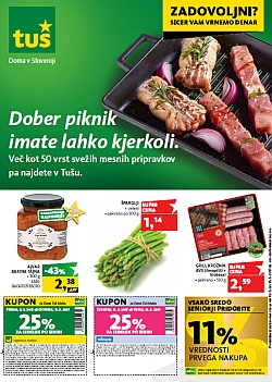 Tuš katalog trgovine in franšize do 15. 05.