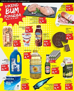 Tuš katalog Vikend BUM akcija do 21. 05.