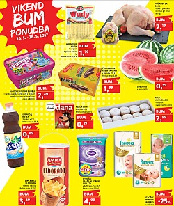Tuš katalog Vikend BUM akcija do 28. 05.