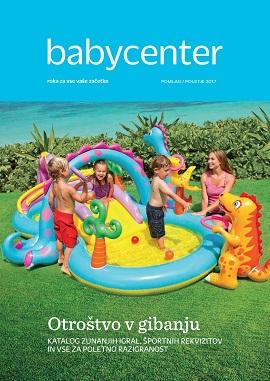Baby Center katalog zunanjih igral 2017