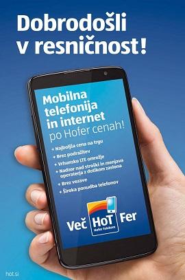 Hofer katalog Hot mobilna telefonija