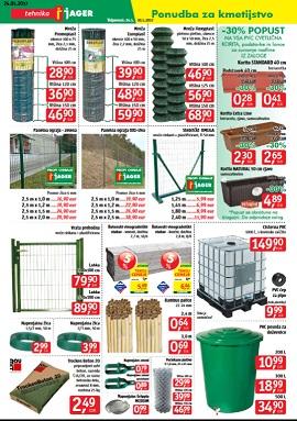 Jager katalog kmetijstvo in vrt do 30.5.