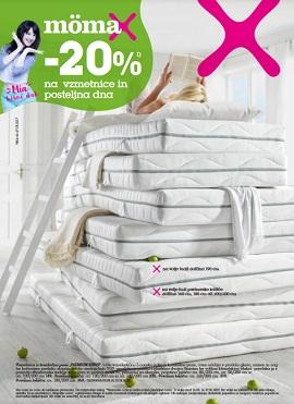 Momax katalog Vzmetnice in posteljina
