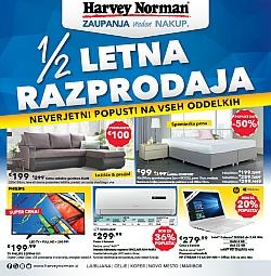 Harvey Norman katalog Razprodaja se nadaljuje