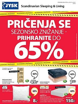 Jysk katalog Sezonsko znižanje do 21. 06.