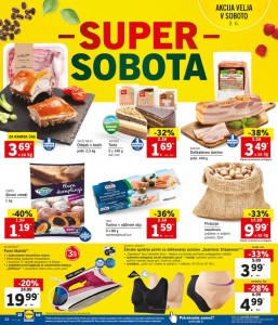 Lidl super sobota do 03. 06.
